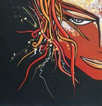 01Portrait(50x50cm-acrylique dur toile)